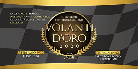 VOLANTI D'ORO 2020 biglietti
