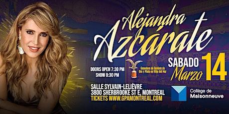 Alejandra Azcarate Comedy Show Montreal tickets