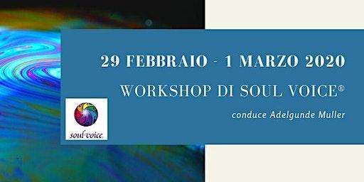 Workshop di Soul Voice®