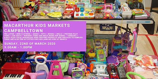 Macarthur Kids Markets - Family Pass
