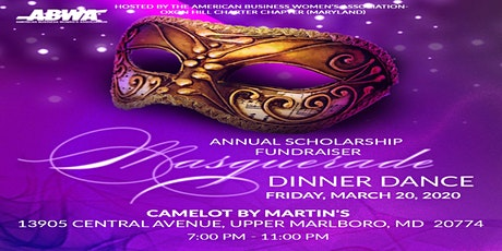 ABWA-OHCC's 2020 Masquerade ScholarshipGala at Camelot by Martin's tickets