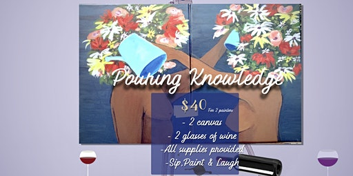 Couples Valentine's Day Paint'n sip