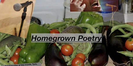 Homegrown Poetry March tickets