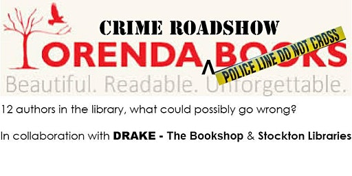 Orenda Crime Roadshow      12 Authors, In the Library With the Lead Pipe...