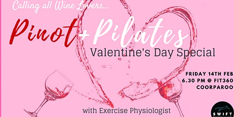 Pinot & Pilates Valentine's Day Special tickets