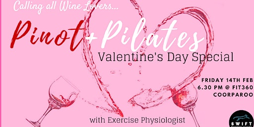 Pinot & Pilates Valentine's Day Special