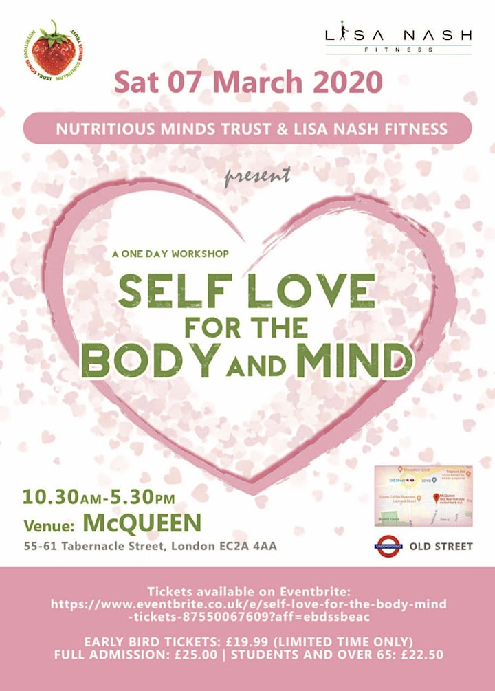 Self Love for the Body & Mind image