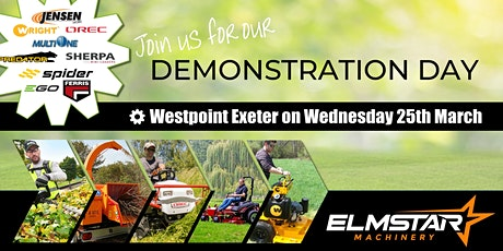 Demonstration Day | Commercial Garden Machinery tickets