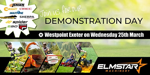 Demonstration Day | Commercial Garden Machinery