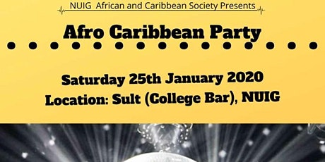NUIG ACS Afro Caribbean Party tickets