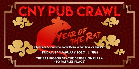 CNY PUB CRAWL tickets