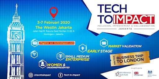 TECH TO IMPACT JAKARTA  - Early Stage (Idea Validation)
