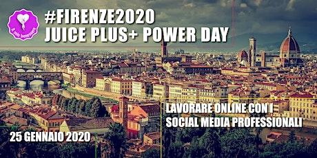 Firenze 2020 Juice Plus+ Power Day biglietti