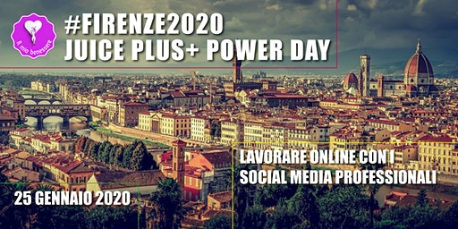 Firenze 2020 Juice Plus+ Power Day