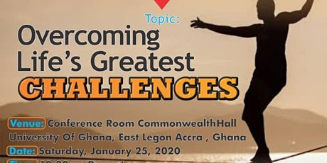 OVERCOMING LIFE'S GREATEST CHALLENGES tickets