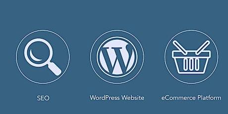 Corso Seo per Wordpress. Ottimizziamo ecommerce, blog e portfolio tickets