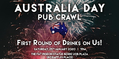 Singapore Pub Crawl - Australia Day tickets