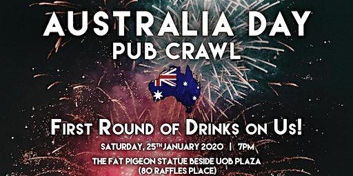 Singapore Pub Crawl - Australia Day