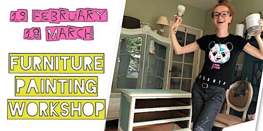 Furniture painting workshop, 4 hours