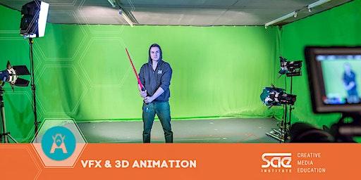 "Workshop: ""Movie Post Production"" - Visual FX Animation"