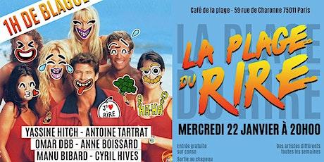 La Plage Du Rire #11 - Stand up billets