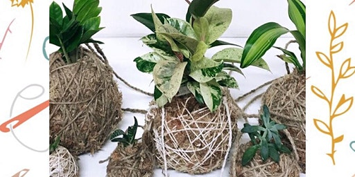 Kokedama Workshop
