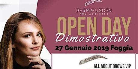 DERMAFUSION (Trucco Permanente) Open Day Dimostrativo biglietti