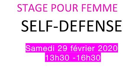 Stage Self Defense billets