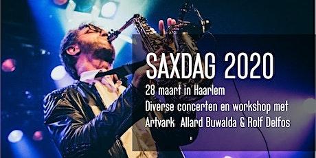 SAXDAG 2020 Haarlem Editie LET OP! Wordt verschoven naar 24 oktober! tickets
