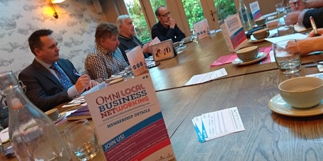 ONLINE BUSINESS NETWORKING FREE with a GUARANTEED closed 1-2-1 meeting! Omni Newbury Business Breakfast Networking Meeting - Omni Business Networking tickets
