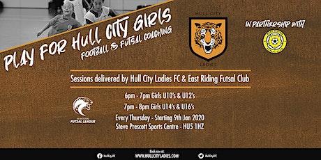 U14's & U16's Football & Futsal Coaching (Every Thu : 23rd Jan - 13th Feb) tickets