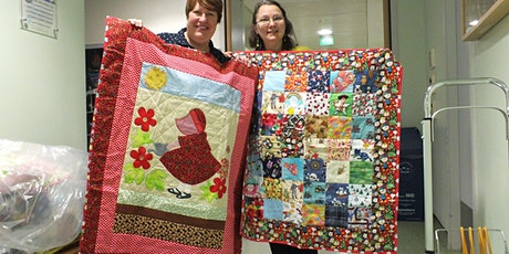 QUILTING FOR PROJECT LINUS (weekly class) tickets