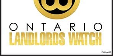 How to Fight For Your Landlord Rights - Ontario Landlords Watch Shows How! tickets