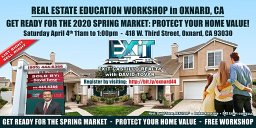 Protect Your Oxnard Home Value, Get Ready for The Spring Real Estate Market