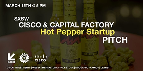 SXSW Cisco Hot Pepper Pitch tickets