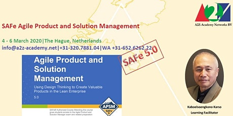 SAFe Agile Product and Solution Management tickets