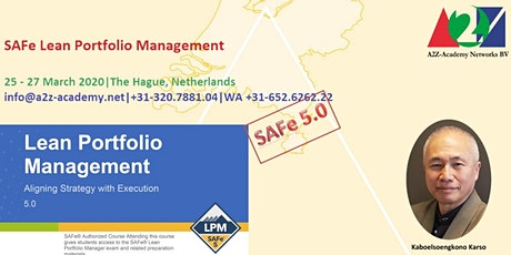 SAFe Lean Portfolio Management LPM2004 tickets