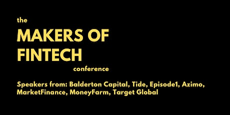 The Makers of Fintech Conference tickets