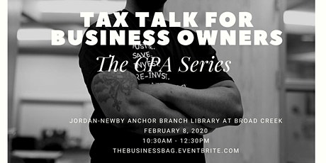 Tax Talk for Business Owners tickets