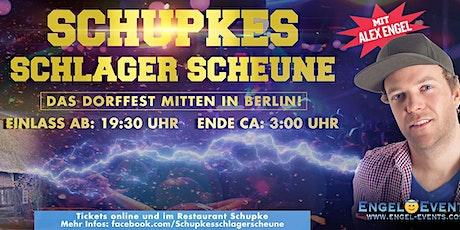 Faschingsparty in Schupkes Schlager Scheune (mit Alex Engel live) Tickets