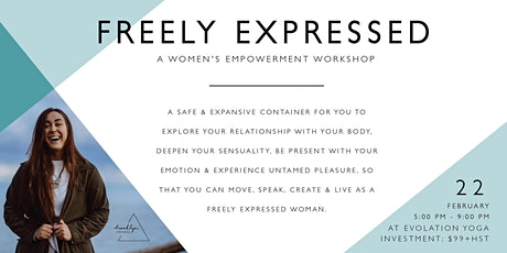 Freely Expressed - A Women's Empowerment Workshop tickets