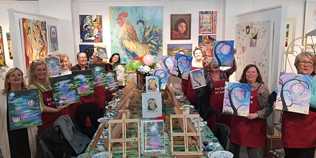 Paint & Sip Art Class BYO Wine Snack tickets