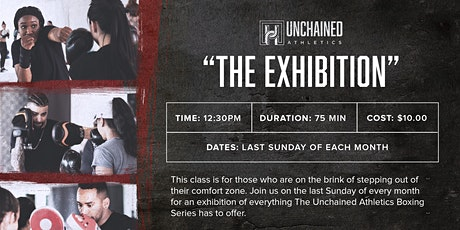 Unchained Athletics Boxing : Exhibition tickets