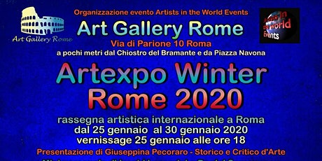 Artexpo Winter Rome 2020 tickets