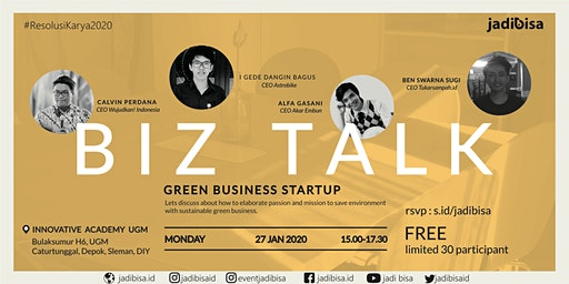 Biz Talk : Green Business Startup