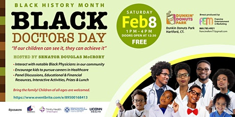 """"""" Black Doctors Day"""" If our children can see it they can achieve it! tickets"""