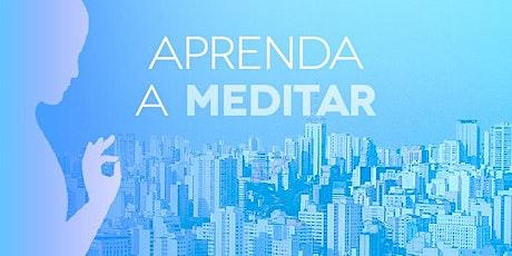 Aprenda a Meditar-  Uberaba ingressos