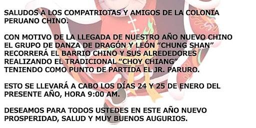 Pasacalle de la Danza de León y Dragón Chung Shan