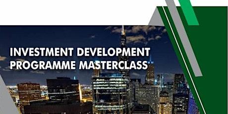 Investment Development Programme Masterclass tickets