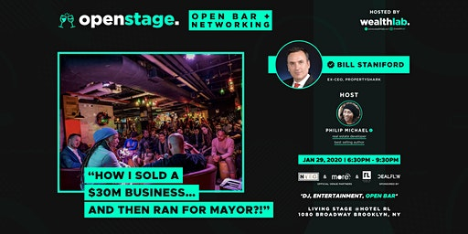 """[Networking Party/Show]:""""HOW I SOLD A $30M BIZ...AND RAN FOR MAYOR?"""""""